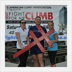 Fight for Air Stair Climb to benefit the American Lung Association